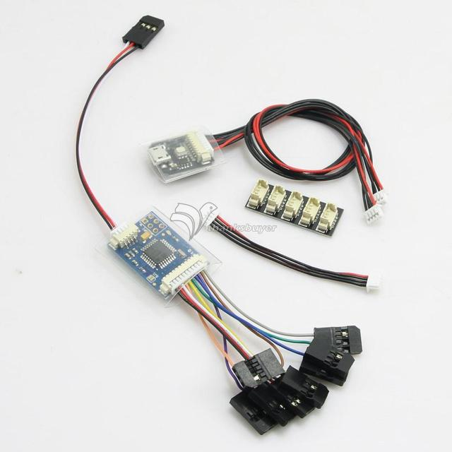 PPM Encoder Module & LED Indicator Module & I2C Splitter Expand Module for Pixhawk Flight Controller