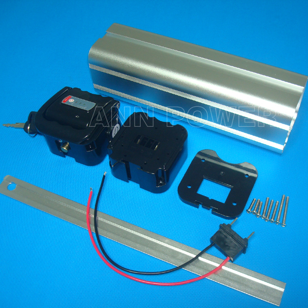 Free Shipping 24v Electric Bicycle Battery Case 24v