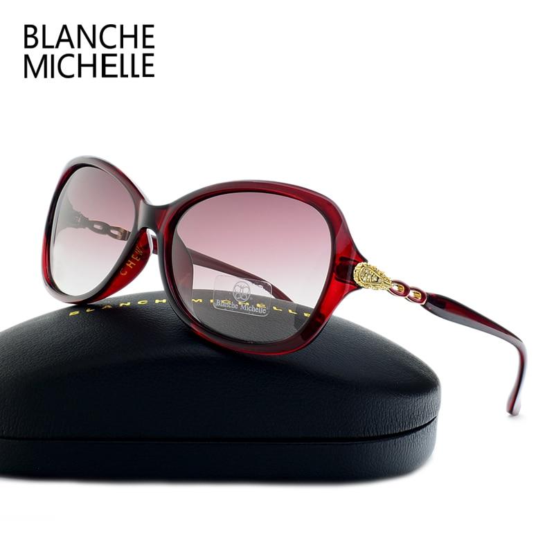 Blanche Michelle Luxury Butterfly Sunglasses Women Polarized UV400 Gradient Lens Sunglass Brand Designer Sun Glasses With Box 2
