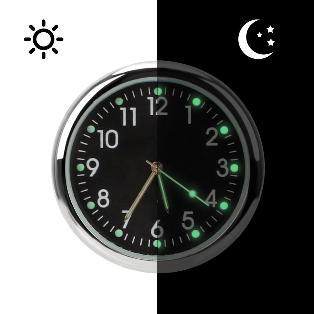 LEEPEEAuto Accessories Car Electronics Car Clock Car-styling Luminous Quartz Clocks Ornaments Analog Watch Air Outlet Decoration Pakistan