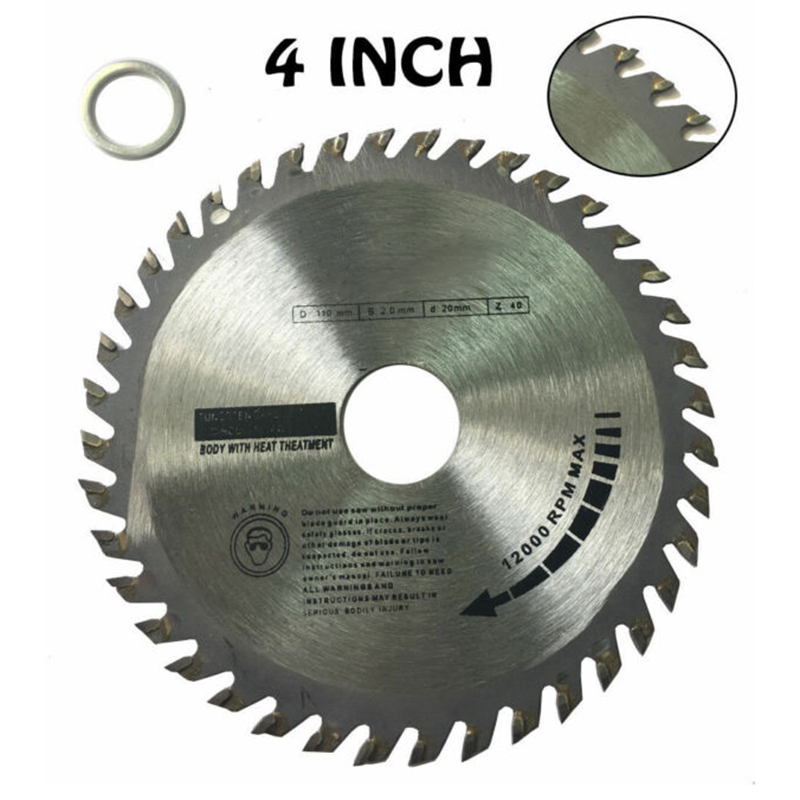1*Circular Saw Blades Oscillating Tool Accessories Disc Blade 40 Teeth Wood Hardwood Cutting 110/115/125mm Durable