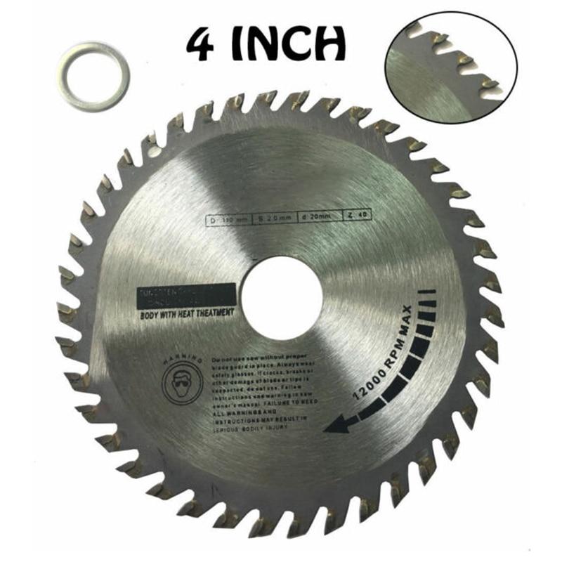 1*Circular Saw Blades Oscillating Tool Accessories Disc Blade 40 Teeth Wood Hardwood Cutting 110/115/125mm Durable