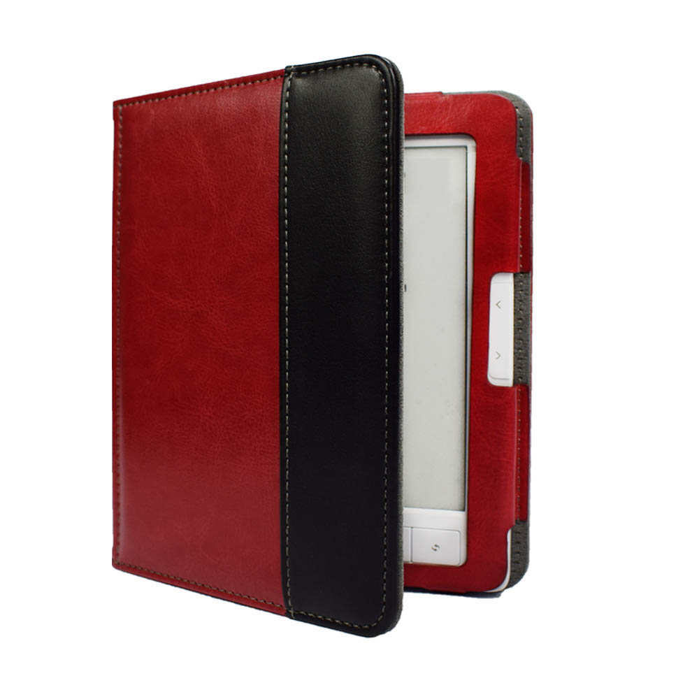 Advanced pu leather Cover For Digma E652 E654 eReader ultra slim book Case magnetic clasp flip good fit R652 R654 pouch+Film|Tablets & e-Books Case| |  - title=