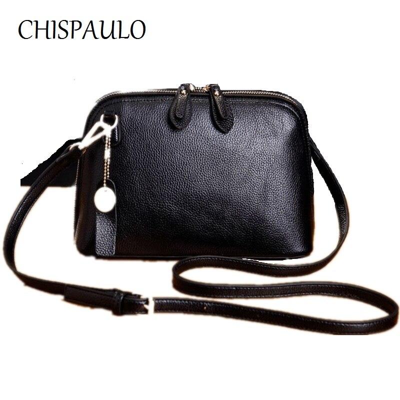 f3909d66de47 Chispaulo марка дизайнер женщины натуральная кожа сумки женской моде сумки  посыльного кисточкой crossbody сумка женская клатчи x52