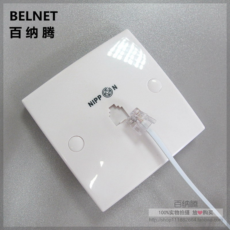 tool phone panel telephone wiring board no need to wire panel tool phone panel telephone wiring board no need to wire panel 86 phone jack telephone wall socket 86 single port panel in computer cables connectors