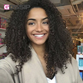 8A Grade Full Lace Wigs Human Hair With Baby Hair Kinky Curly Peruvian Virgin Hair 130% Density Cheap Kinky Curly Lace Front Wig