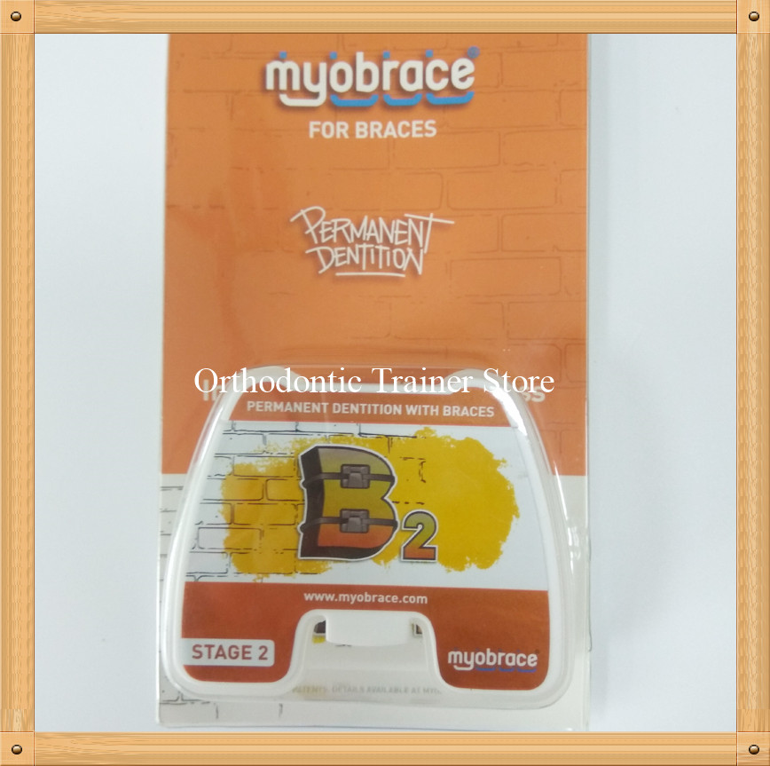 цена Dental Orthodontic Teeth Trainer Appliance b2/MRC trainer B2 Permanent Dentition work with Braces