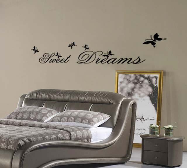 Sweet Dreams Erfly Home Decor Wall Stickers Child Love Diy Poster Retro Shelf Art