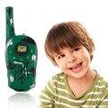 2 Pcs Walkie Talkie Conjunto Das Crianças Das Crianças Brinquedos Eletrônicos Portátil Two-Way Radio