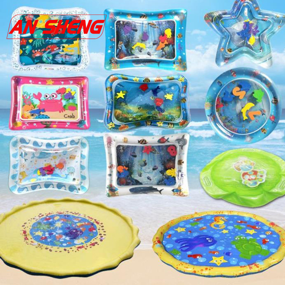 2019 Hot Sales Baby Kids Water Play Mat Inflatable Infant