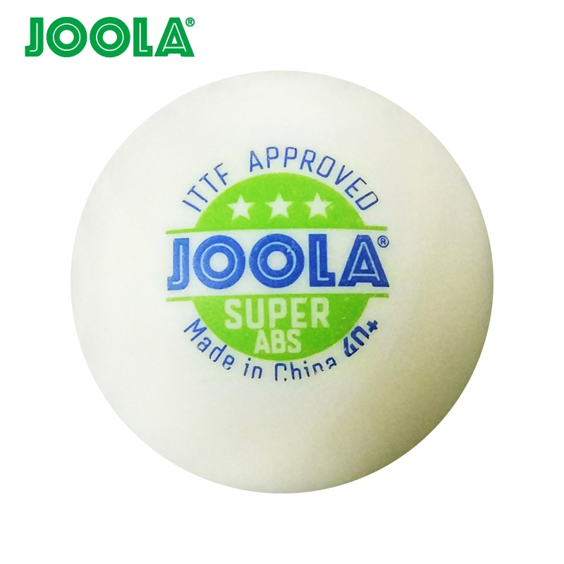 Wholesales 72 Balls JOOLA 3 Star SUPER ABS Table Tennis Ball ITTF Approved Plastic 40 Ping
