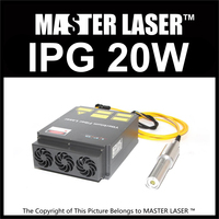 Brand New IPG 20W Q SWITCH Pulse Laser Coating Remove Machine DIY PART Ytterbium Nanosecond Pulsed