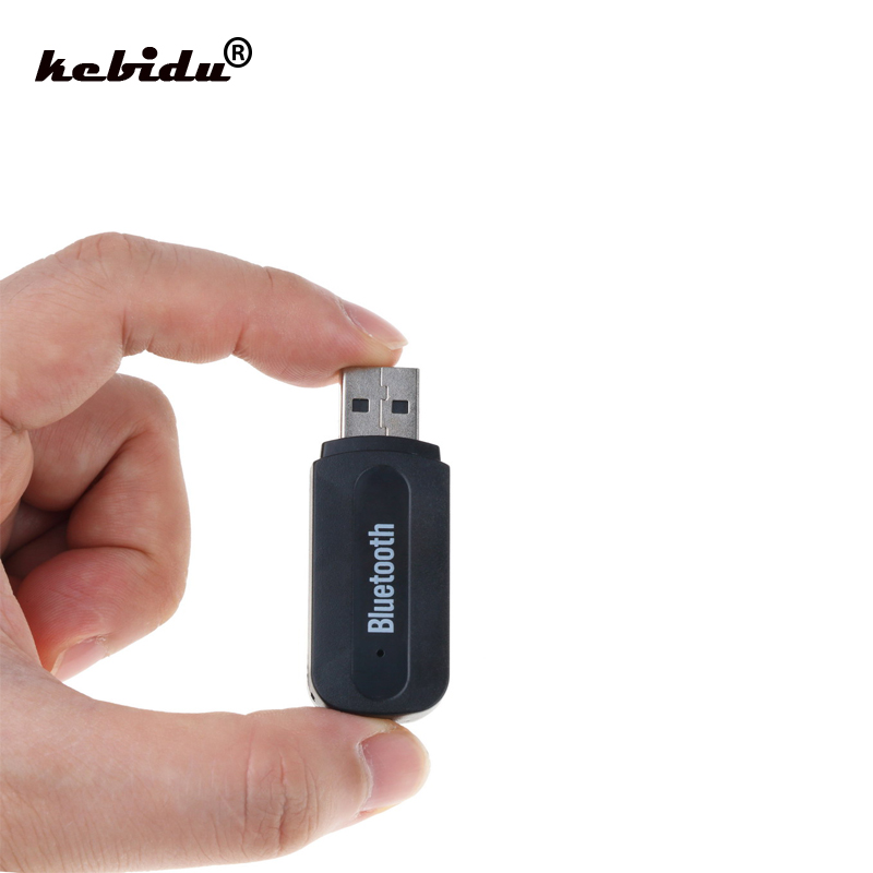 3.5Mm Stereo Audio To Speaker Sound Box USB Bluetooth Music Audio Receiver Adapter For Apple Iphone 4/5/6 Plus Wholesale
