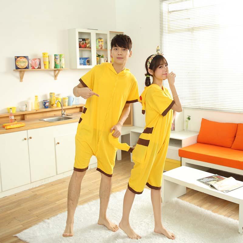 0939426002 Couple family matching summer unisex short sleeve t shirt with pants onesie  adult animal jumpsuit pajama unicorn panda bear on Aliexpress.com | Alibaba  ...