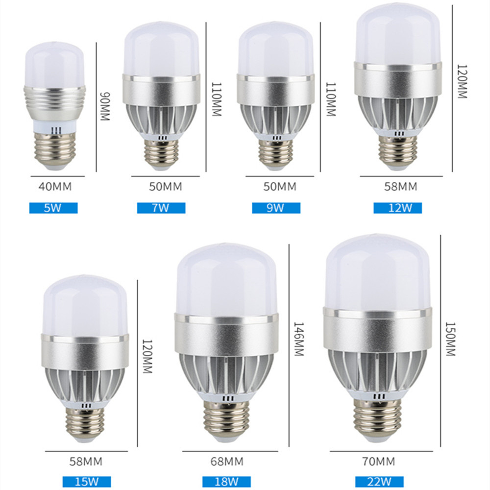 led bulb light e27 110v 220v 5630 5730 smd 5W 7W 9W 12W 15W 18W 22W daylight white 6500k warm whie 3000k high power lamp e27 15w 1200lm 71 smd 5730 led warm white light lamp white yellow 220v