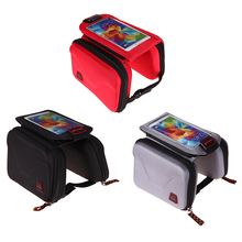 Bicycle Bag Outdoor Mountain Bike Bags Road Top Tube Pannier Frame Saddle Smart Phone Bag New