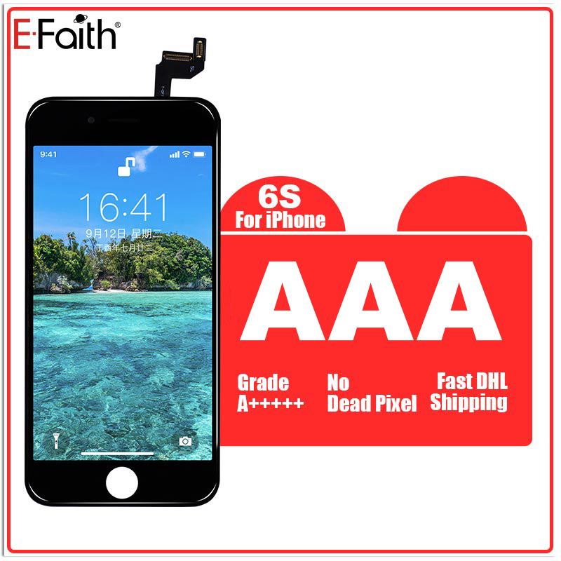Hot Selling E Faith 10pcs/lot AAA LCD for iPhone 6s display lcd Screen with Touch Screen Digitizer Replacement Fast Shipping-in Mobile Phone LCD Screens from Cellphones & Telecommunications