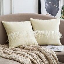 Decorative Luxury Throw Pillow Covers Velvet Elegant Pillow Cases Square Soft Pillow Shams Cushion Covers Home Decoration цены