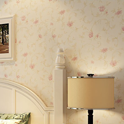 10m*53cm Non-woven wallpaper European rural style floral Sweet bedroom full shop The sitting room background wall paper жилет vitacci жилет