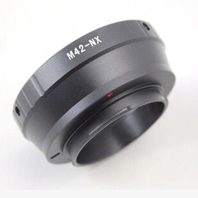 M42-NX  camera lens Adapter Ring M42-NX M42 Screw lens to for Samsung NX NX5 NX10 NX11 NX100 NX200 n20 n30 Camera