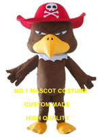 pirate eagle mascot costume pirate bird custom cartoon character cosplay adult size carnival costume 3141