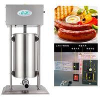 18 Free Ship Electric Stainless Steel Sausage Stuffer Vertical Sausage Filling Machine Kitchen Meat Processing Sausage
