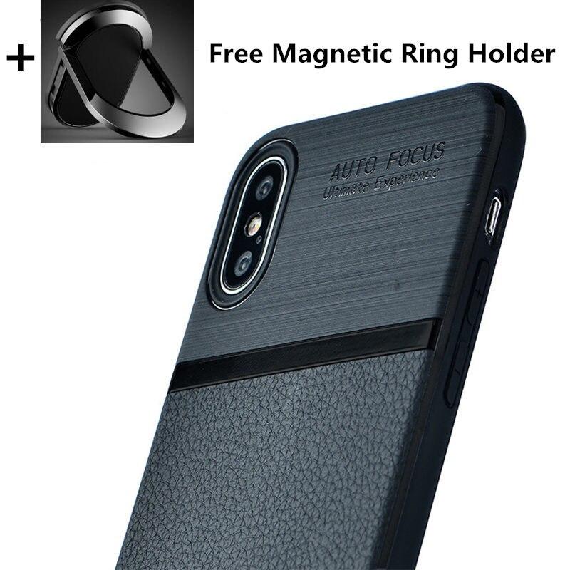 SA40 ультра тонкий Чехлы для телефона из искусственной кожи для iPhone 6S 6 7 8 плюс XS Max крышка Люкс