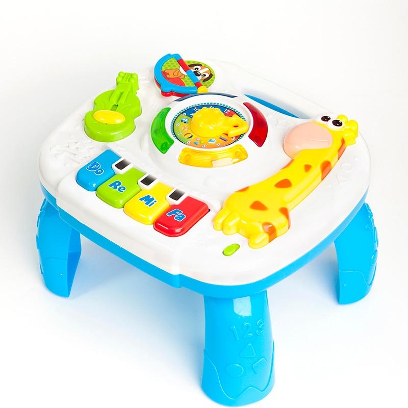 Giocattoli musicali Del Bambino 13-24 Mesi di Gioco Educativo Play Center Giocattolo di Musica Tabella di Attività Oyuncak Brinquedos Para Bebe