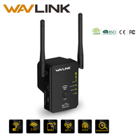 Wavlink AC750 Dual Band Range Extender Access Point Wireless Repeater Wifi Signal Booster EU Plug White