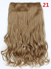 21#  Hair Extension Synthetic Hairpieces Clip In Hair Claw On Wavy Curly Hair Wiglets Fashion For Women Hair Costume