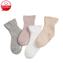 Spring Summer Socks For Girls Princess Lace Style Baby Kids Elastic Mesh Sock Hosiery Good Breathability Socks 6pairs/lot