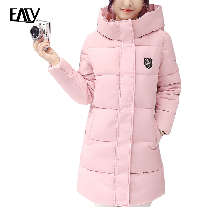 Plus Size 3XL Winter Jacket Women Winter Coat Hooded Parka Jaqueta Feminina Chaquetas Mujer Casacos De Inverno Feminino