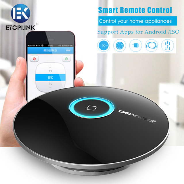 Orvibo Multifunctional Allone WiFi Smart Remote Control Intelligent Home  -  BLACK