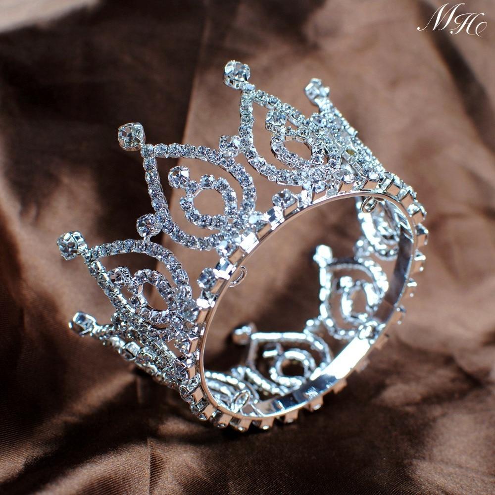 vintage small tiara diadem bride
