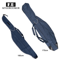 160/170 cm Fishing Rod Bag Rod Case Fishing Rod Storage Case Fishing Bag Canvas Bag Shawl Shoulder Sea Fishing Gear Tackle