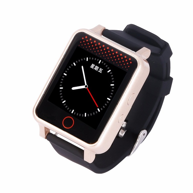 V36 GPS Watch Heat Rate Blood Pressure Detection Waterproof Touch Screen Watch for Grandparents Grandchildren Gift