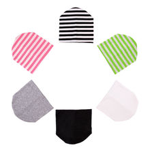 1Pcs Newborn Infant Toddlers Baby Boys Girls Simple Stripes Beanie Hats Kid Cotton Soft Cap Toddle Hat