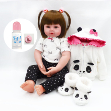60cm girl bebe Soft Silicone Reborn Dolls Realistic Newborn Baby Girl For Sale Lifelike Baby Alive Doll Kids Playmate toy realistic soft silicone reborn baby 22 55 cm stuffed dolls wear ears hat so truly lovely boy baby alive dolls toy for sale