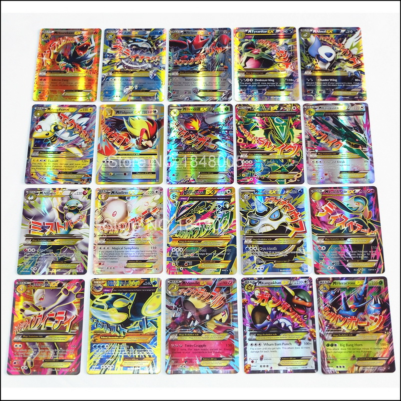 Image 5 - 200 Pcs GX EX MEGA pokemones Cards Game Battle Carte 324pcs Trading Cards Game Children Toy-in Game Collection Cards from Toys & Hobbies