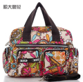 Fashion MultiColored Tote Nappy Bags Cross-body Multifunctional Mummy Bags Maternity Shoulder Diaper Bags Bolsas Baby Bag