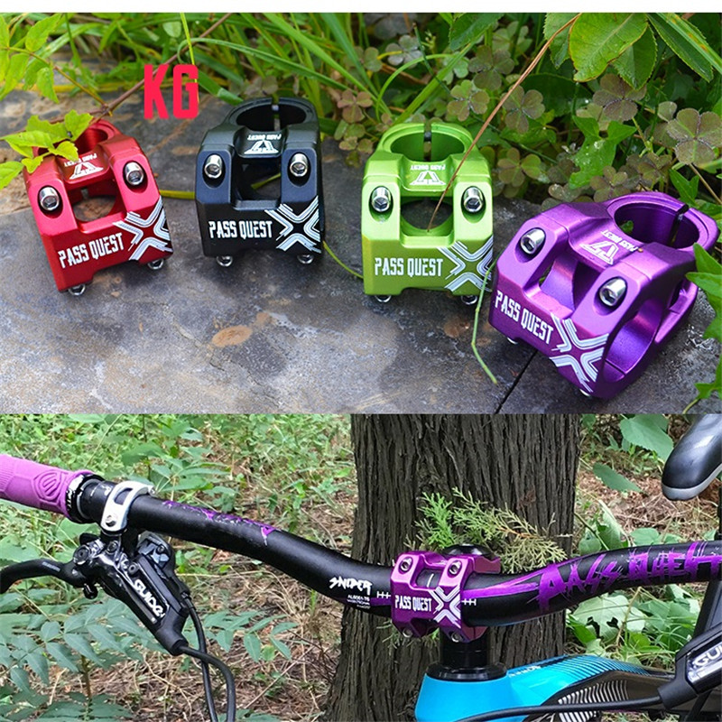 KG vtt VTT tige 28.6mm fourche 31.8mm guidon DH AM tige de vélo en alliage d'aluminium vélo pièces Taiwan