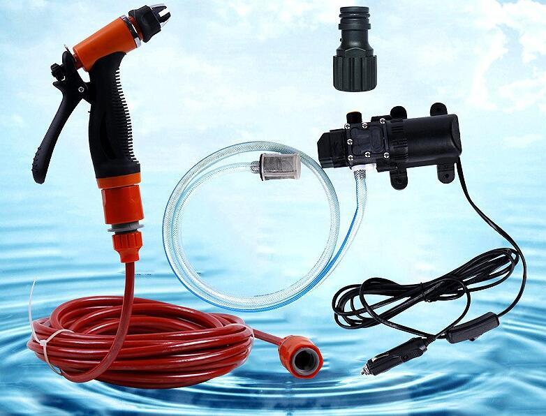 Haute pression auto-amorçage électrique lave-auto laveuse pompe à eau 12 V voiture laveuse Machine à laver allume-cigare