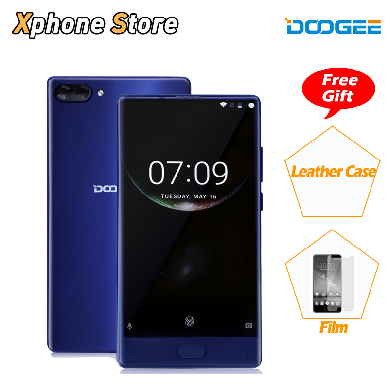 DOOGEE MIX 6GB/4GB RAM 64GB ROM Android 7.0 Helio P25 Octa Core 5.5 inch 4G LTE Smartphone 3 Cameras 16.0 MP 1280x720P Phones