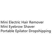 Mini Female Hair Removal Razor Women Body Face Electric Lips
