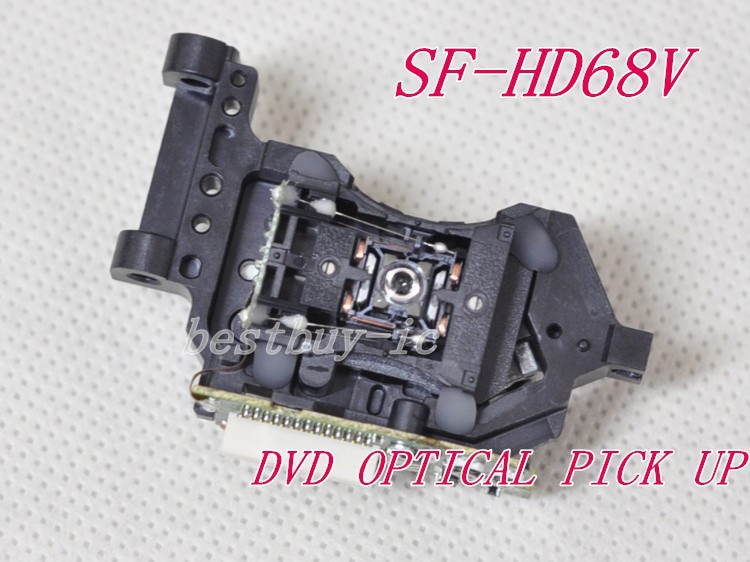 10 piece lot DVD laser head SF HD68V DVD ROM laser head SF HD68 SFHD68V