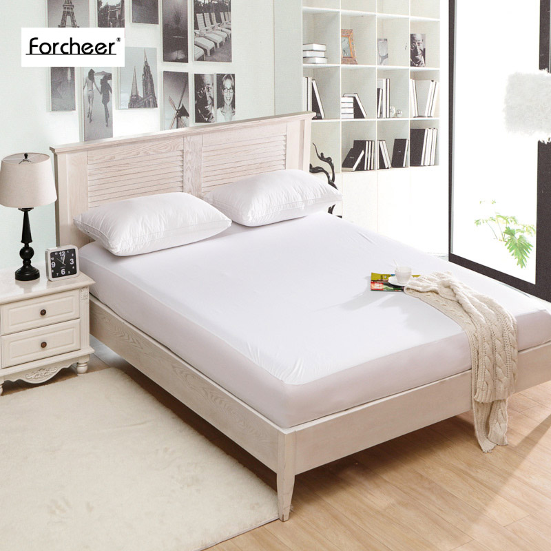 bed waterproof cover cal king size smooth waterproof. Black Bedroom Furniture Sets. Home Design Ideas