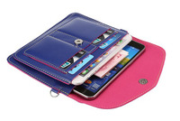 Shoulder Belt Lady Shopping Pouch Zipper Artificial Leather Phone Case For Samsung Galaxy Express Prime J2