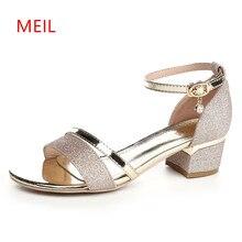цена на Gladiator Sandals Women Sandalias Mujer 2018 Ladies Summer Shoes Women Sandals Open Toe Heels Ladies Wedding Sandals Sandalet