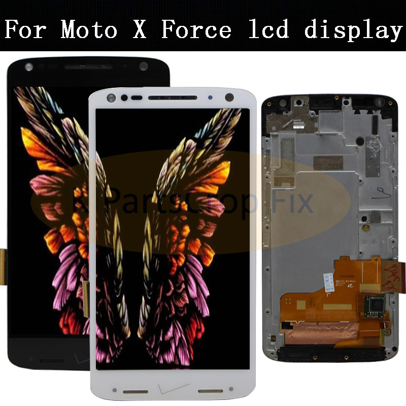 5 4 For Motorola for moto x force XT1580 LCD Screen Display Touch digitizer Assembly with