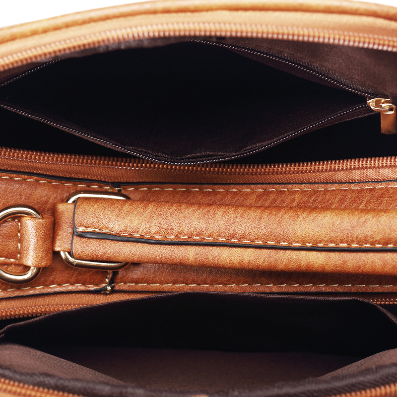 annmouler marca mulheres bolsa do Open Method : Zipper Open